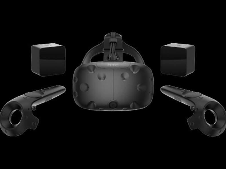 16022 HTC Vive - VR Brille mit Games