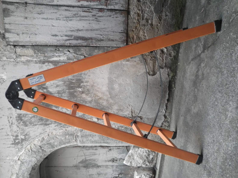 5773 Bockleiter Kunststoff 5 Sprossen