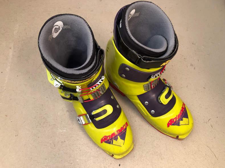 16219 Skischuhe für Skitouren Gr. 45