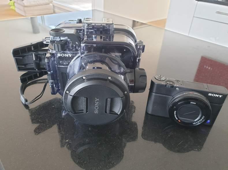 16454 Kamera inkl. Tauchhülle