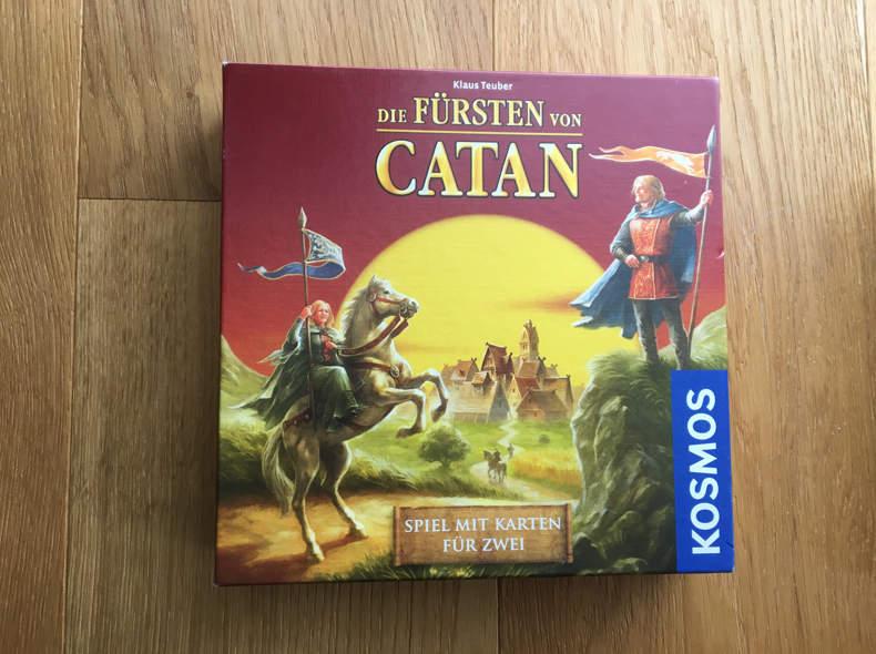 16468 Spiel - Die Fürsten von CATAN