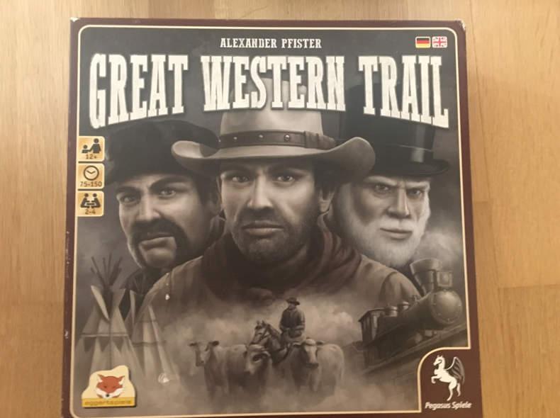16755 Brettspiel Great Western Trail