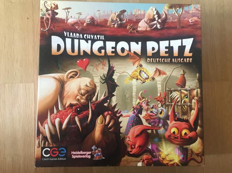 16758 Brettspiel Dungeon Petz