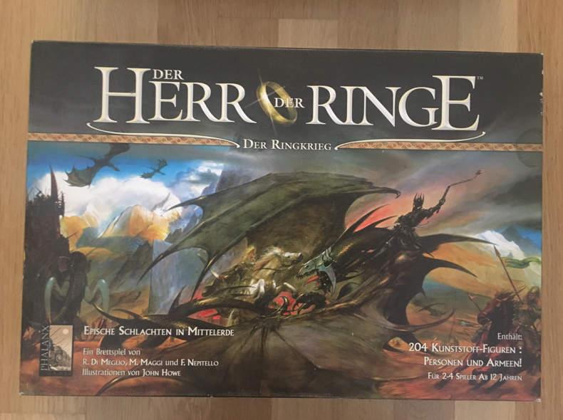16760 Herr der Ringe - der Ringkrieg