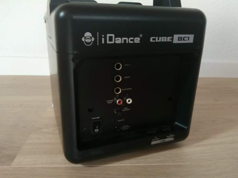 17128 iDance Cube Musiklautsprecher