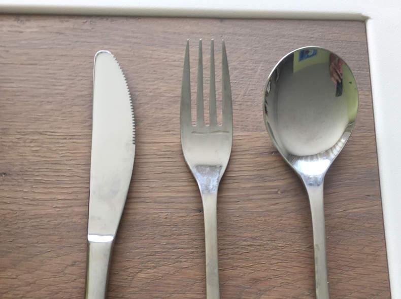 17170 10x Messer, Gabel, Suppenlöffel