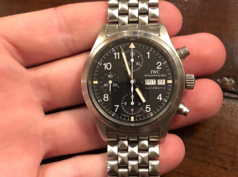 17186 IWC Pilot Chronograph (1996)