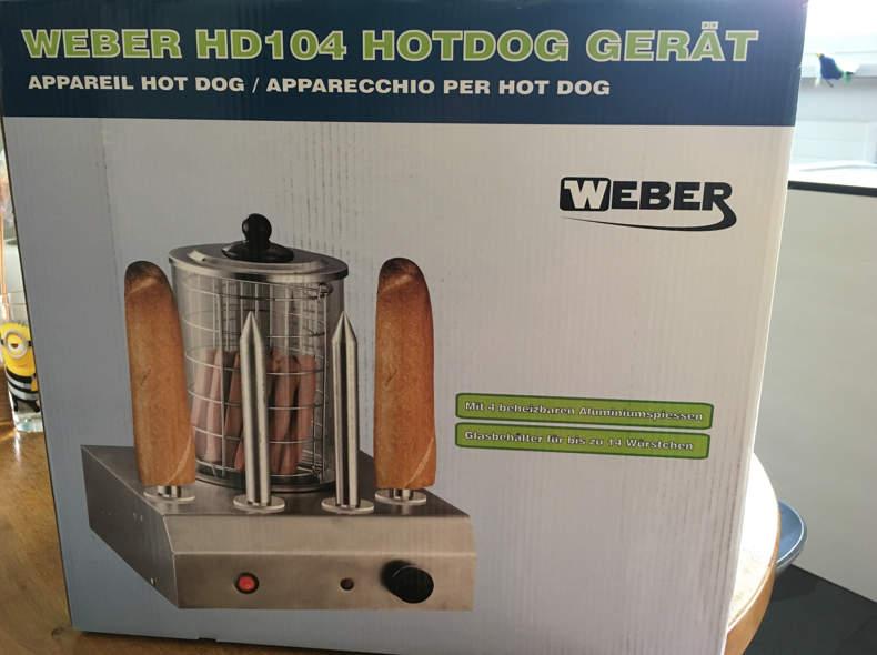17245 Hotdog Maschine