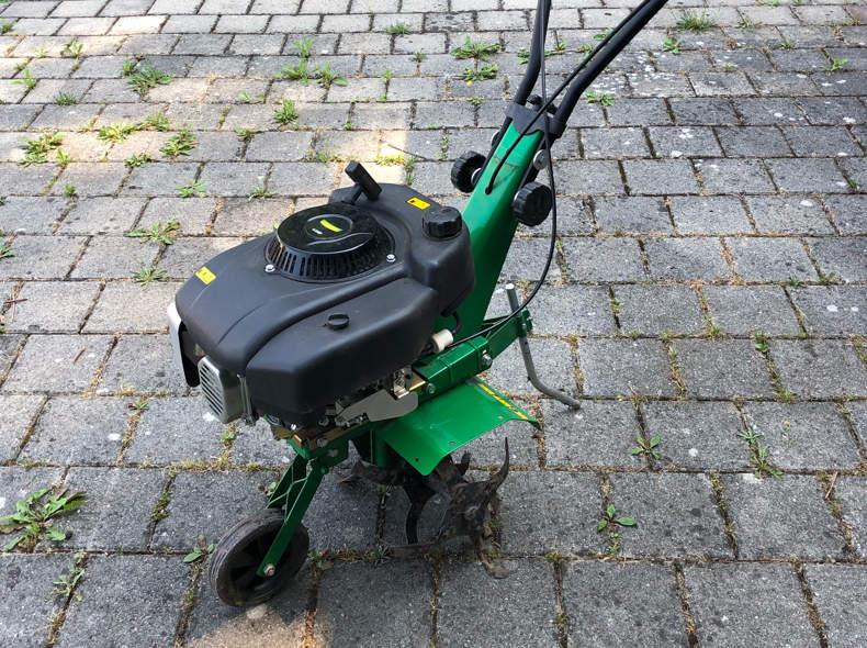 17281 Gartenhacke Benzin