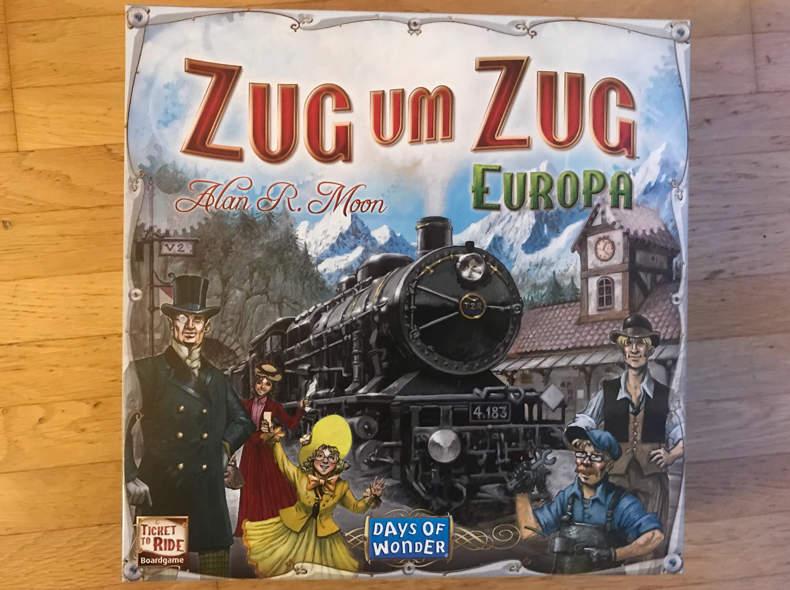 17345 Spiel Zug um Zug Europa