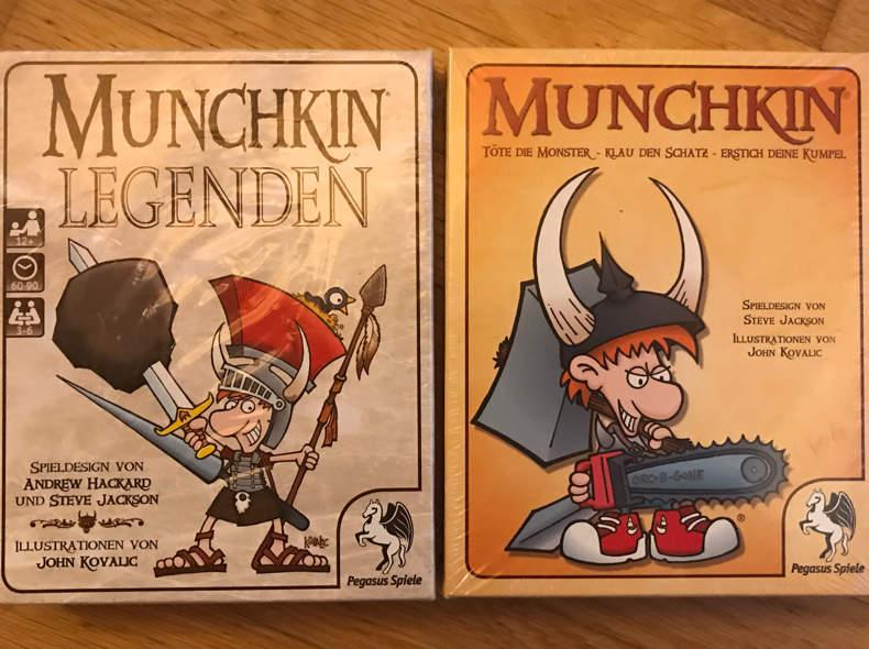 17350 Spiel Munchkin mit Ergänzung