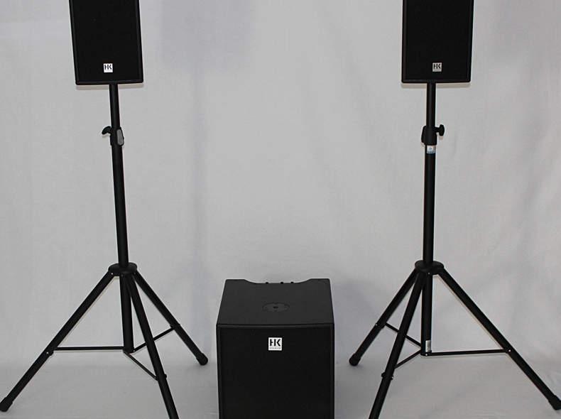 17523 PA Anlage aktiv HK Audio
