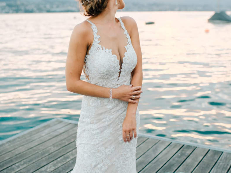 17732 Hochzeitskleid, Farbe Ivory, 34/36