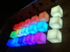 17831 LED Lounge Würfel
