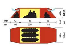 5807 Hilleberg Keron 3GT (3 Pers.-Zelt)