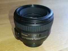 18229 Nikon AF-S 50mm 1:1.4