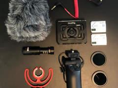 18315 4K Sony RX0 II Kit mit Accessories