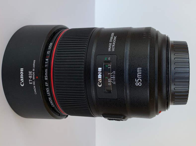 18667 Canon 85mm 1:1.4