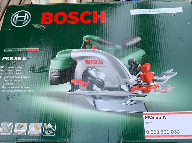 18916 Handkreissäge Bosch
