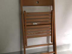 19303 5 Klappstühle Terje IKEA