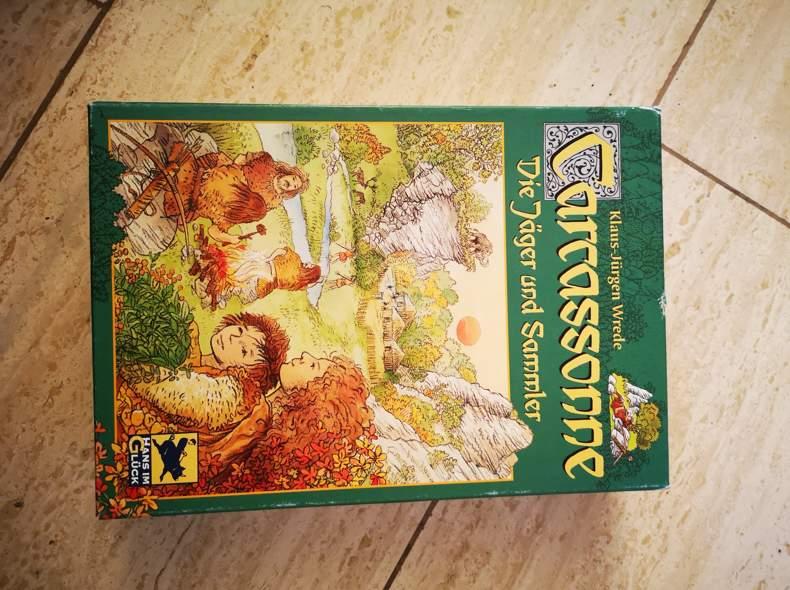 19516 Carcassonne Spiel