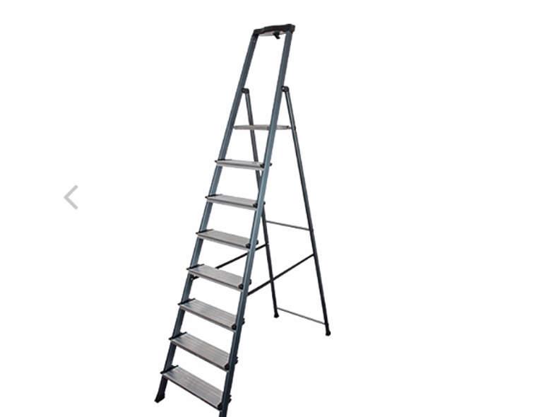 19849 Leiter - Alu Stufenleiter 8 Stufen