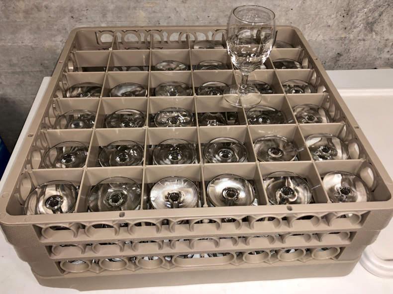 19885 Gläser Kiste à 36 Stück