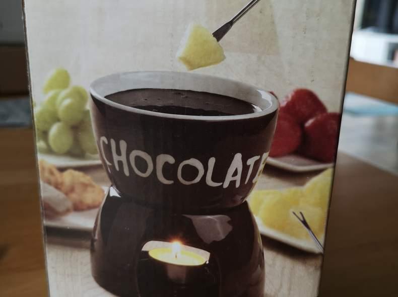 19900 Fondue Set für Schokoladenfondue