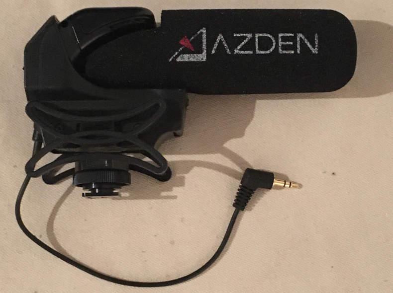 19919 Azden Richtmikrofon
