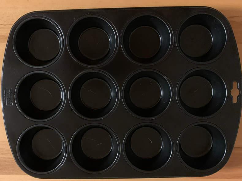 19975 Form für Muffins