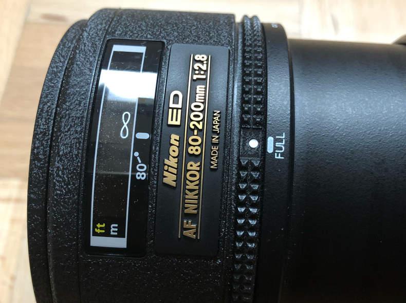 19993 Nikkor 80-200 f/2.8