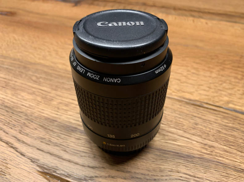 20042 Canon EF 80-200mm Objektiv