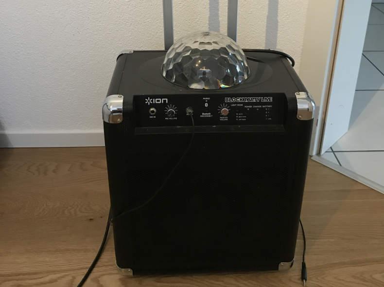 5840 Disco Lautsprecher mit Beleuchtung
