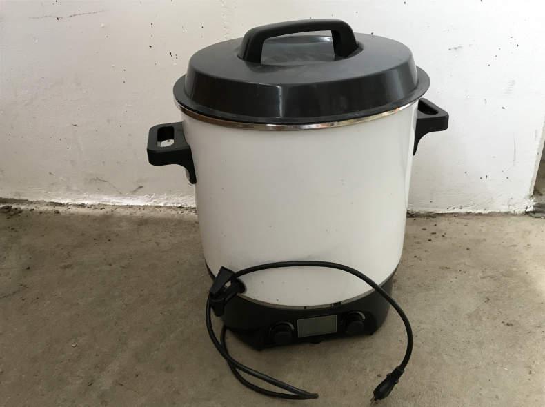 5845 Wasser, Glühwein etc Kocher