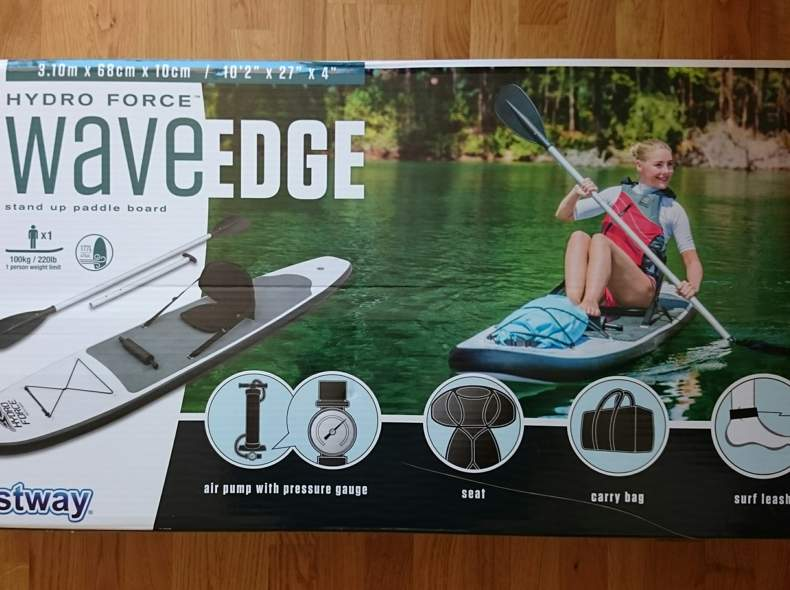 20538 Stand up paddle board mit Sitz
