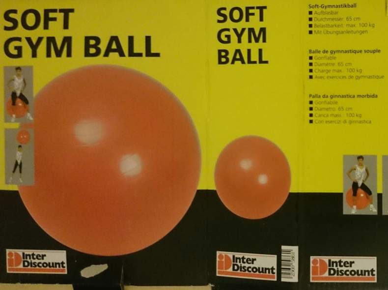 20541 Soft Gym Ball
