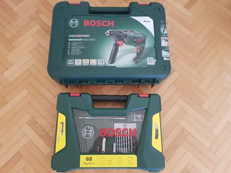 20573 Bohrer Bosch 800W + Einsätze