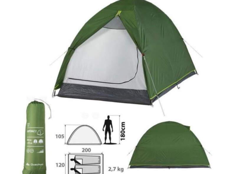 20871 Camping 2 personen Zelt / tent