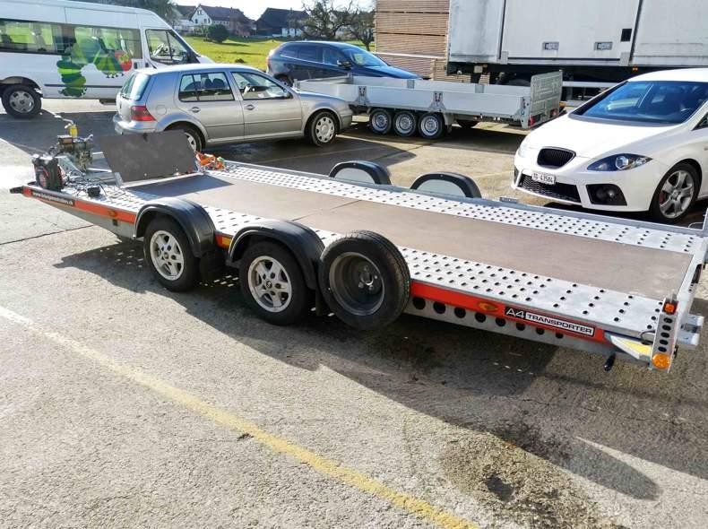 20899 Fahrzeug Transport Anhänger