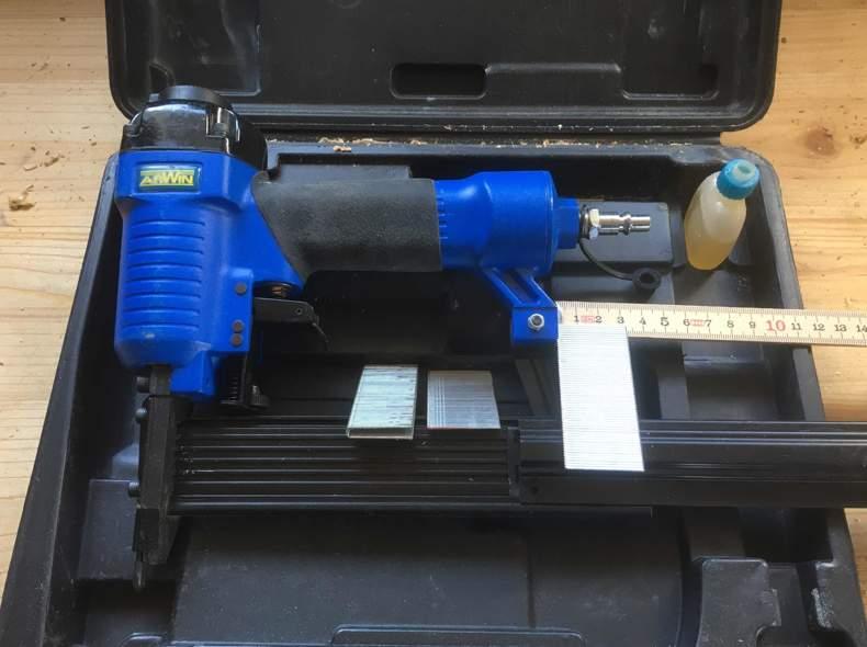20920 Druckluft Nagelpistole max. 30mm