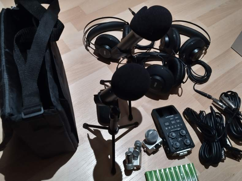 21243 Mobiles Podcast-Equipment (4 Pers)