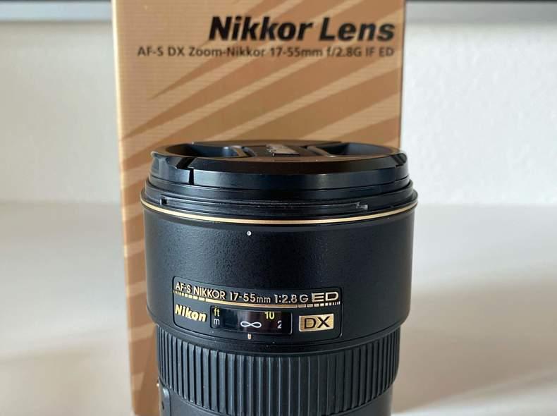 21316 Nikon 17-55 2.8 DX Objektiv