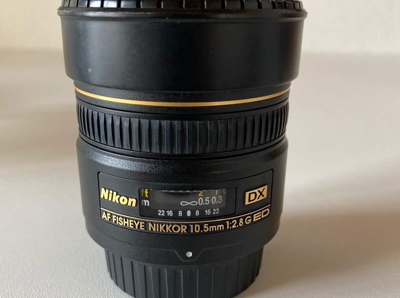 21317 Nikon Fisheye 10.5mm 2.8