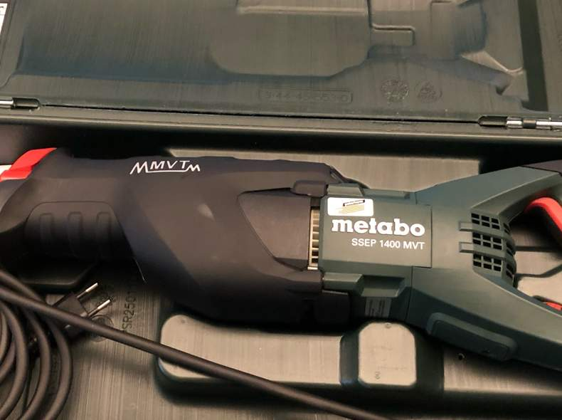 21402 Säbelsäge METABO SSEP 1400 MVT