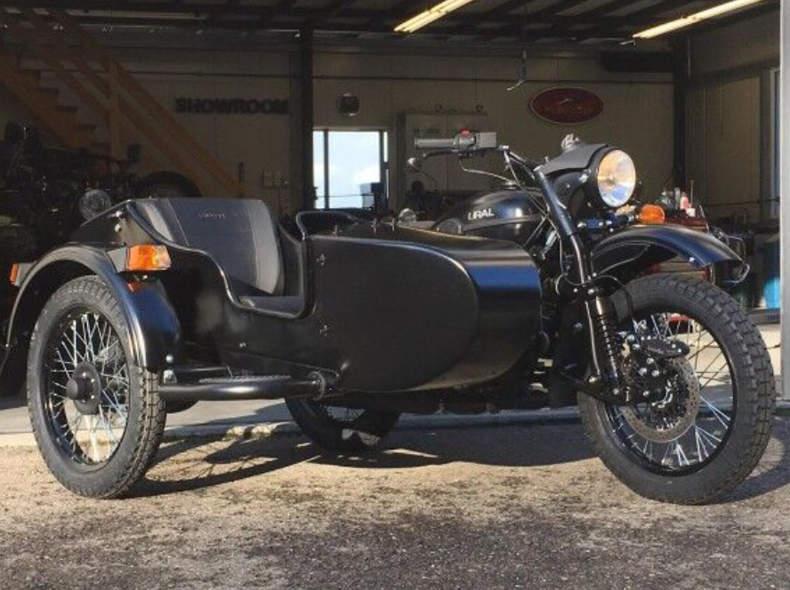 21453 URAL T TWD Seitenwagen Motorrad