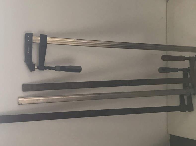 21699 Schraubzwingen gross 100cm 4x