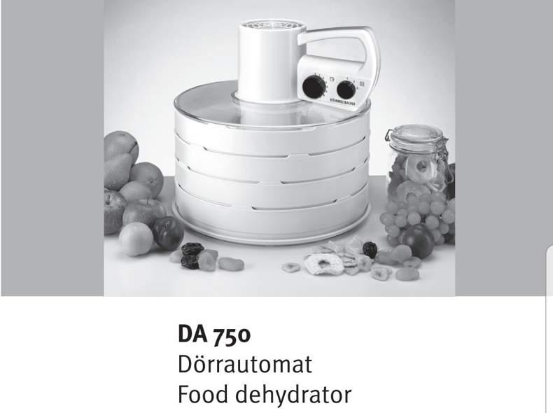 22143 Dörrautomat Rommelsbacher