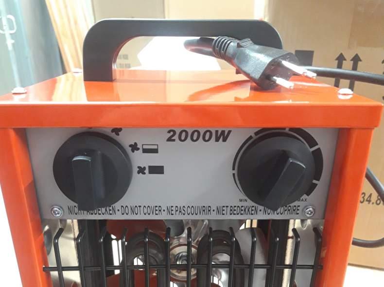 22182 Elektro Heizung 2kW