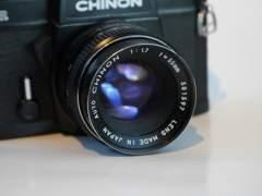 22302 CHINON SLR  analog Kamera ink. 55mm