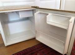 22326 Mini-Kühlschrank (goldig)